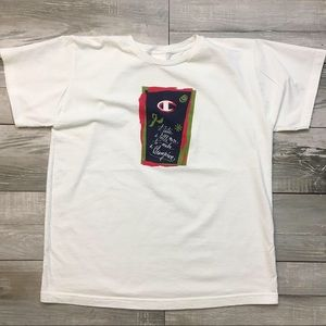 "Champion Shirts - VTG Champion ""It takes a little more..."" Tee"